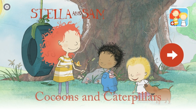 Cocoons and Caterpillars: A Stella and Sam Adventure