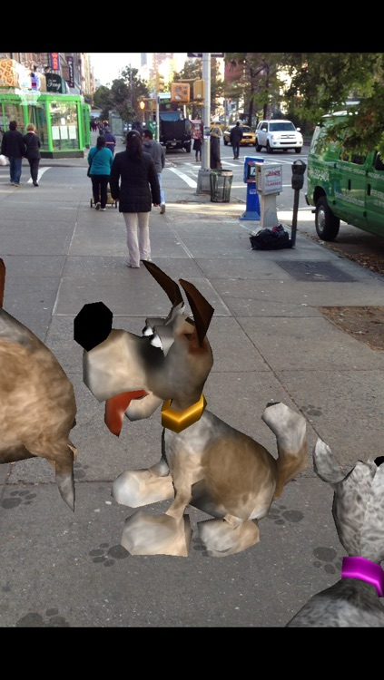 Puppy Dog Fingers! with Augmented Reality FREE screenshot-4
