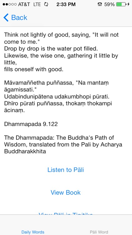 Daily Words of the Buddha