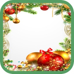 Christmas New Year Photo Frames