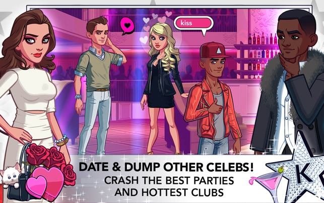 Kim kardashian hollywood top dating level