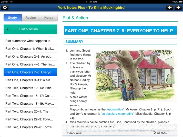 To Kill A Mockingbird York Notes GCSE for iPad