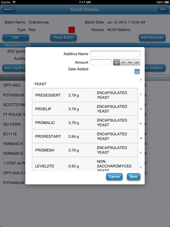 WineMaker Pro screenshot-2