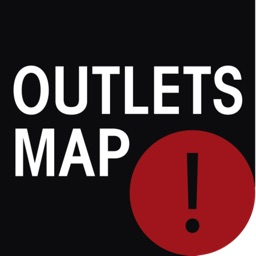 Outlets shops map