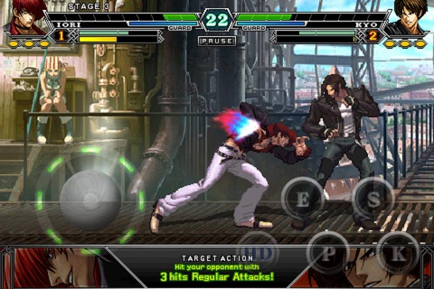 THE KING OF FIGHTERS-i 003 Screenshot