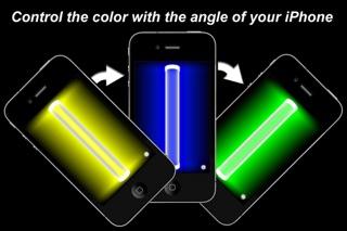 Glow Stick Free: Motion Controlled Glowstickのおすすめ画像1