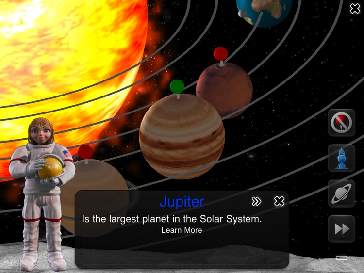iLearn Solar System HD : Making Science Fun