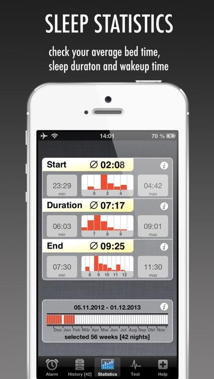 WakeApp Pro - Scientific Alarm Clock & Sleep Recorder screenshot-3