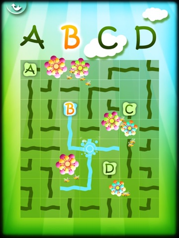 Magic Garden with Letters and Numbers - A Logical Game for Kidsのおすすめ画像1