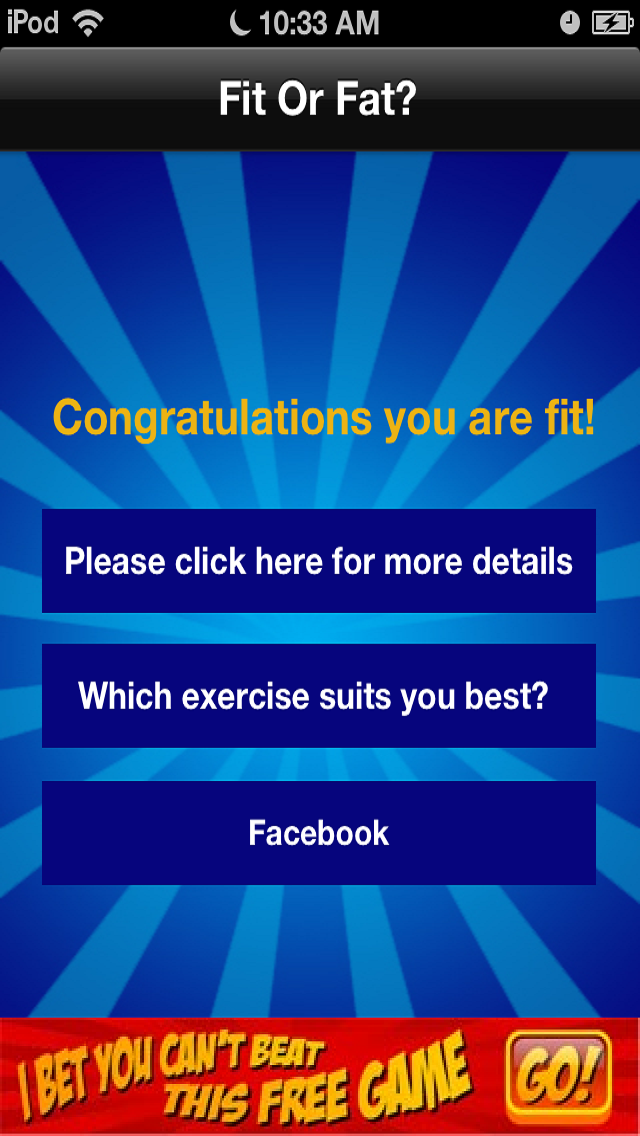 Fit or Fat Free screenshot four