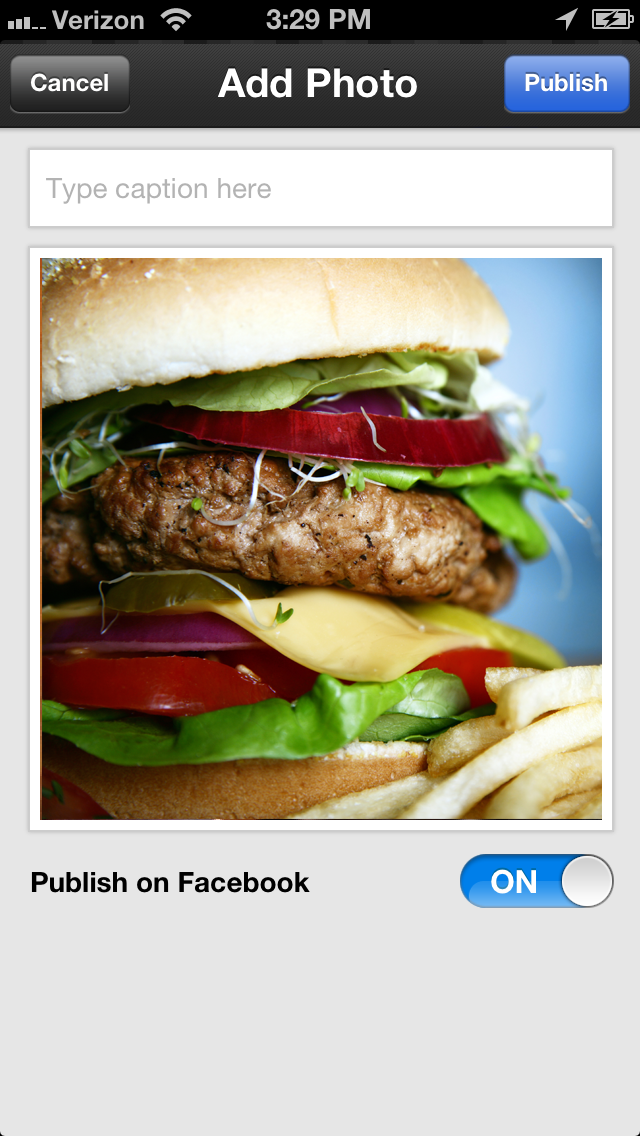 Yummy Food : Food Photos & Recipes Sharing NetworkScreenshot of 5