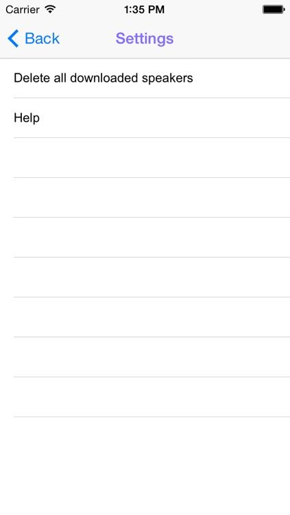 OA Speakers Free screenshot-4