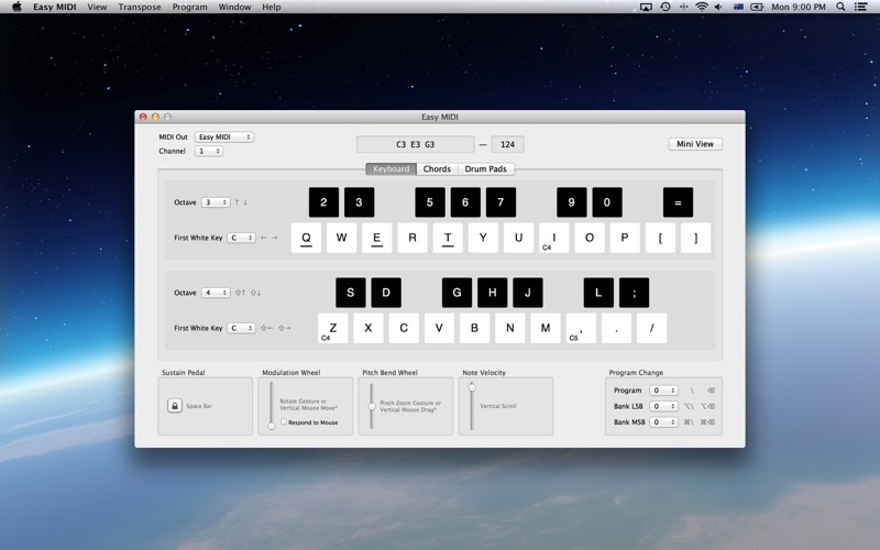 Easy MIDI - Turn your Mac keyboard & mouse into a MIDI Controller | App  Price Drops