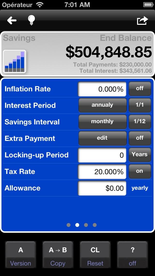 Loan and mortgage cal... screenshot1