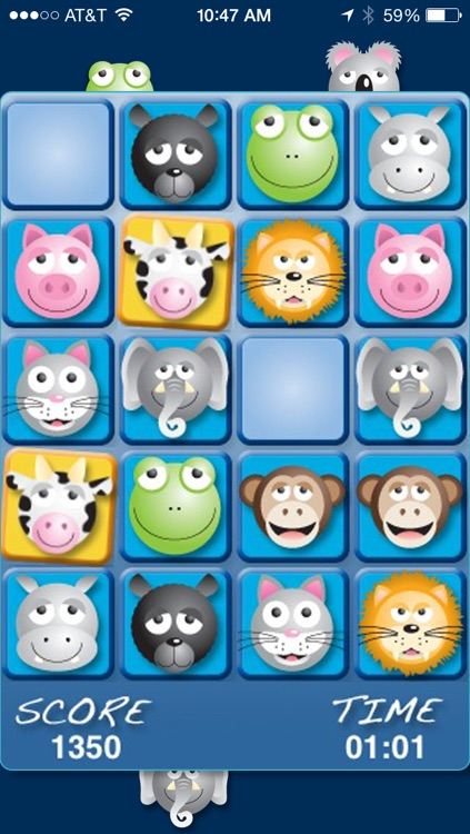 AniMatch: Animal Pairs and Sounds Matching Game