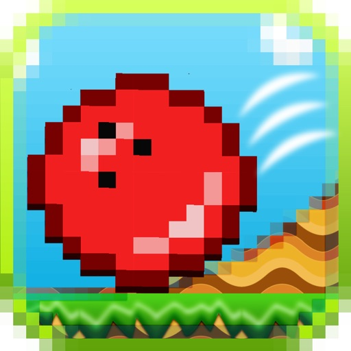 Mine Red Ball Craft Spikes Dodge - Cool Bounce On Arcade Game FREE