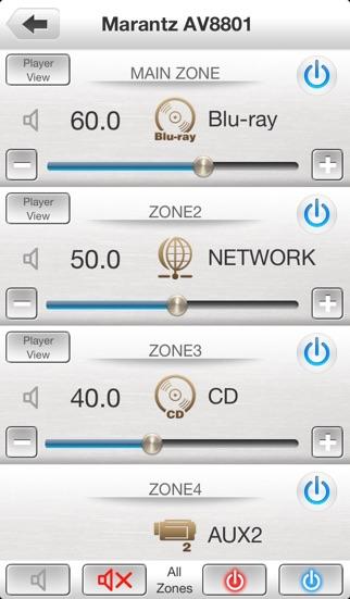 Marantz Remote Appのスクリーンショット4