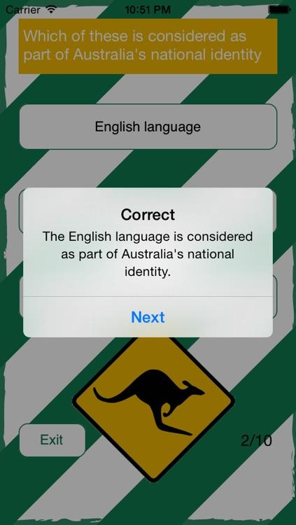 Australian Citizenship Test - PassAUCitizenship.com screenshot-3