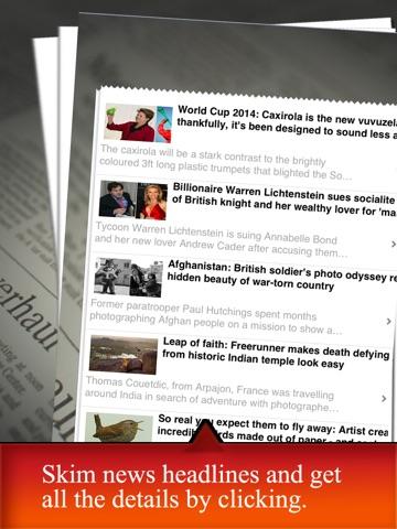UK Newspapers | Wales Newspapers| Scotland Newspapers |Northern Ireland Newspapers-ipad-3