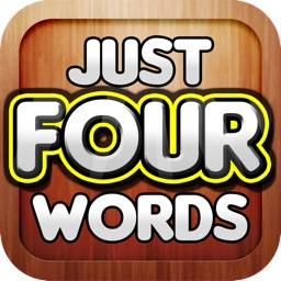 Just 4 Words - Word Phrase, Guessing, Association Game that is fun and will Puzzle, Stump, and Baffle you!