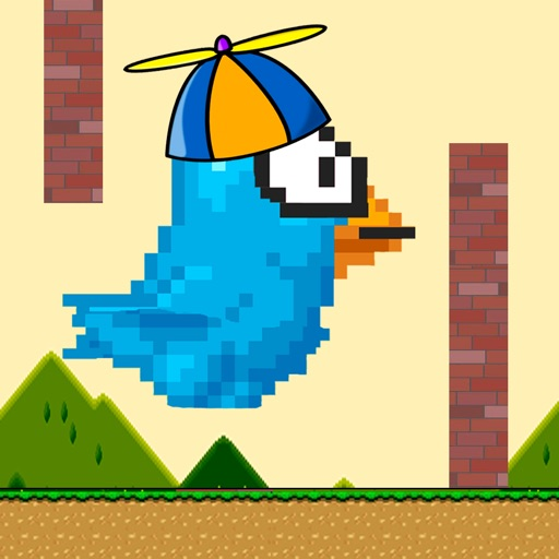 Flying Birdie! icon