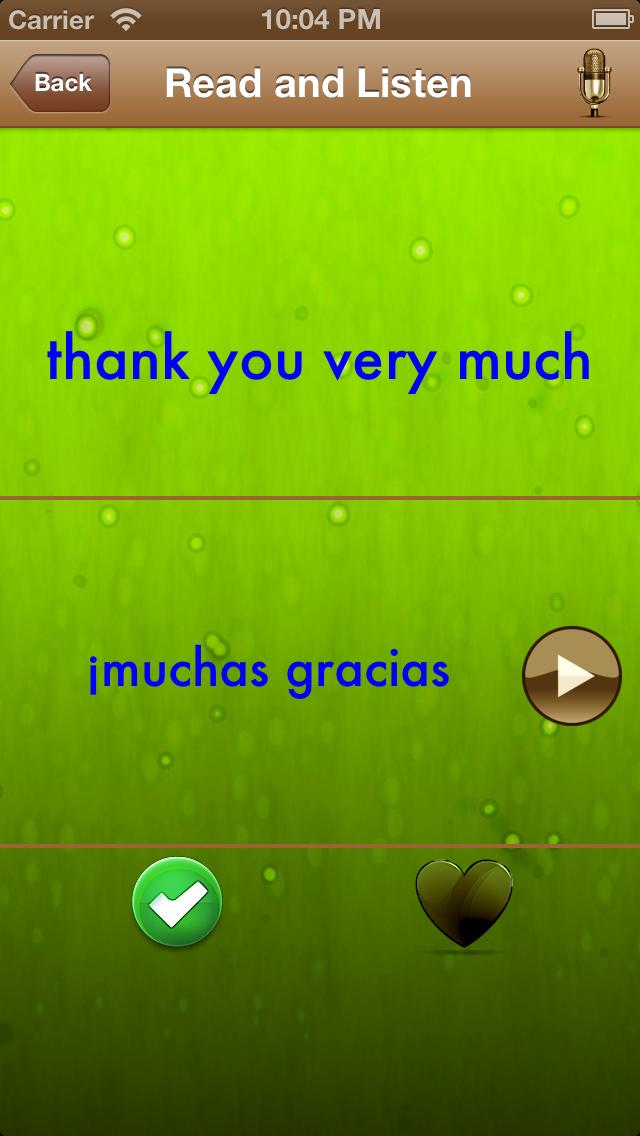 スペイン語を学ぶ:女性の声でフレーズのおすすめ画像3