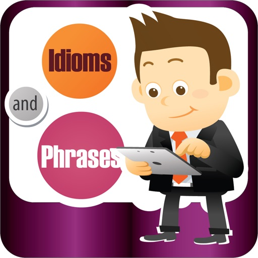 Idioms & Phrases Dictionary with Quiz