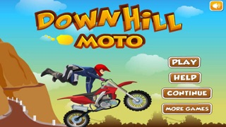 Down Hill Crazy Moto Racing