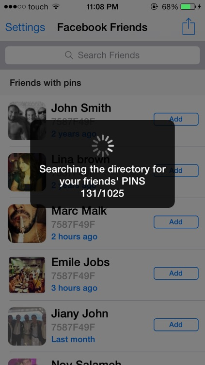 PIN Directory For BBM screenshot-2