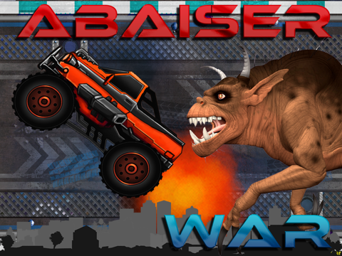 Abaiser Monster Trucks Vs Zombies: Words War Racing Game-ipad-1