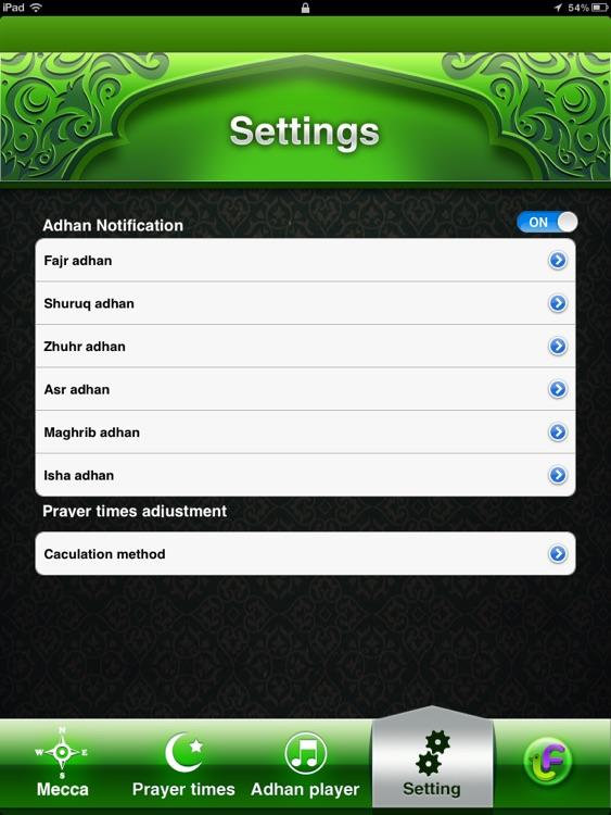 Compass for Islamic Prayers HD screenshot-3