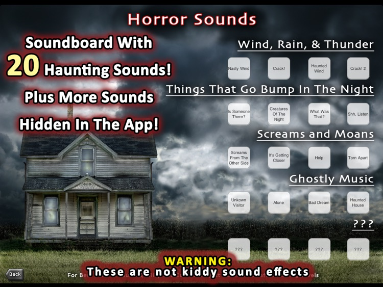 200+ Horror Stories Sounds And Scares for iPad screenshot-3