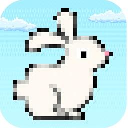 Hoppy Rabbit - Flappy Jumpy Flying Brave Bunny Fall