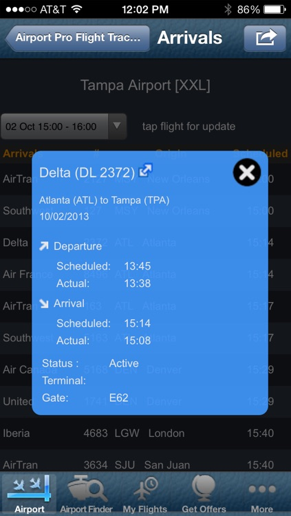 Tampa Airport + Flight Tracker screenshot-1