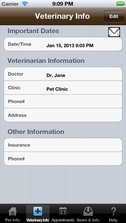 Pet Health (Medical Diary and Log)