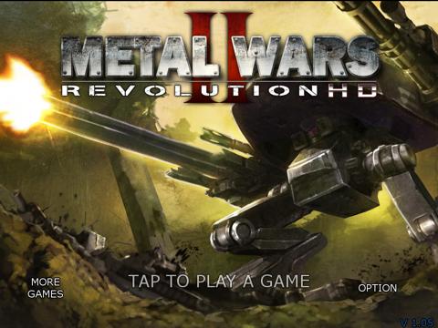 MetalWars2 HD на iPad