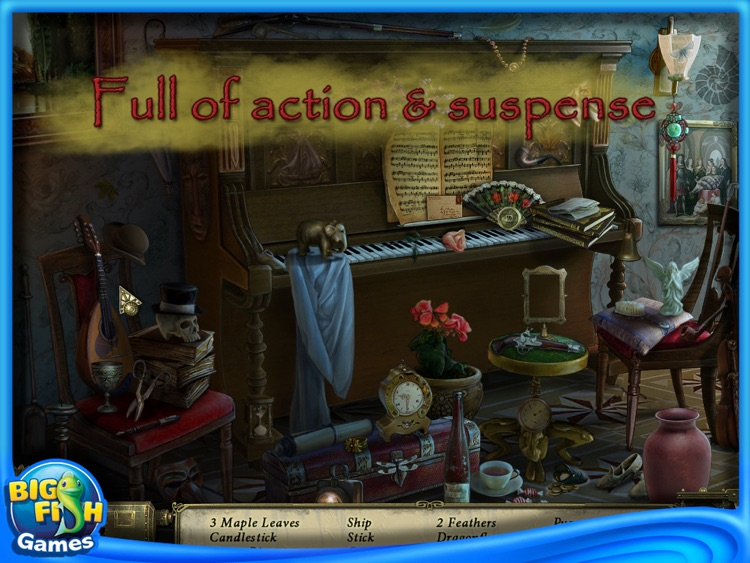 Dark Tales: Edgar Allan Poes Murder in the Rue Morgue Collector's Edition HD screenshot-3
