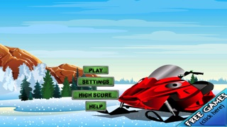 Screenshot #3 for Snowmobile Ice Rage - A Winter Fast Driving Craze