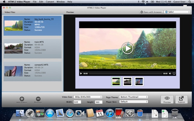 ‎HTML5 Video Player on the Mac App Store