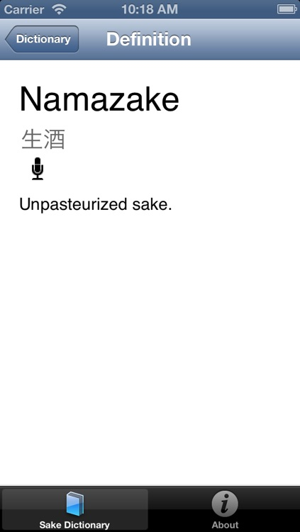 Sake Dictionary