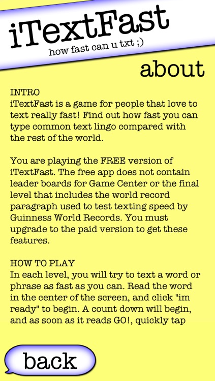 iTextFast Free - The best free texting speed typing test screenshot-3