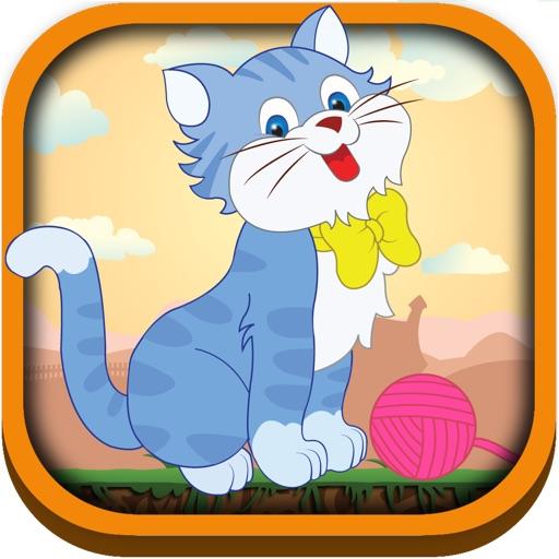 Cat Yarn Bouncing Mania - Kitty Ball Tap Jumping Adventure Free