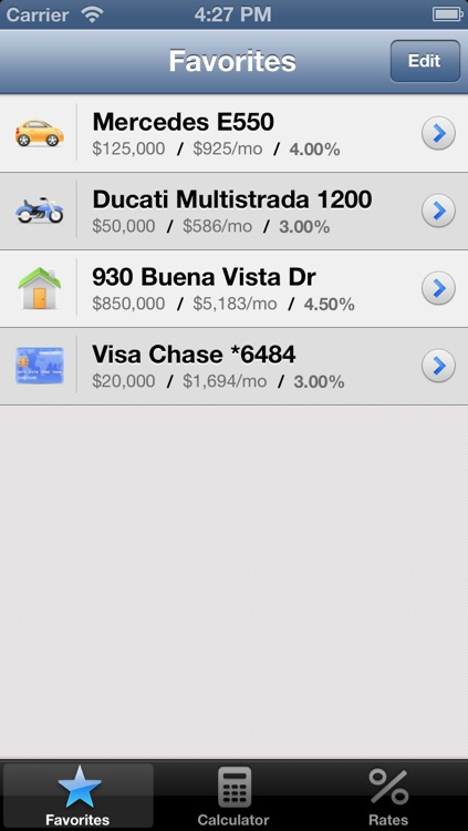 Mortgage Calculator for iPhone screenshot-3