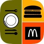Allo! Acho que o restaurante Trivia de alimentos - o que é o ícone neste teste de imagem icon