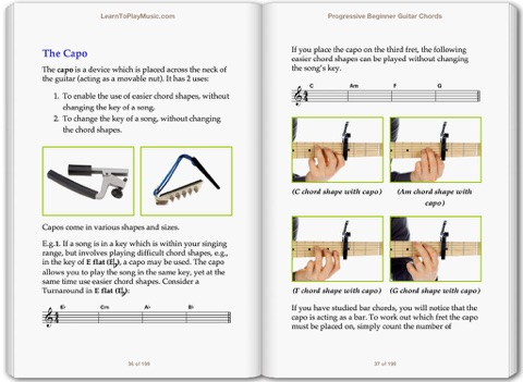 Guitar Lessons - Guitar Chords for Beginners by LearnToPlayMusic.com ...