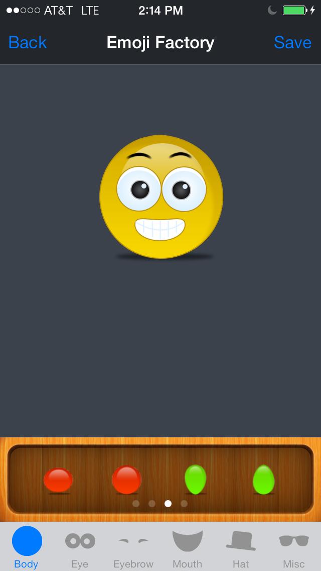 Emoji Factory - Emoticon Icon Maker screenshot two