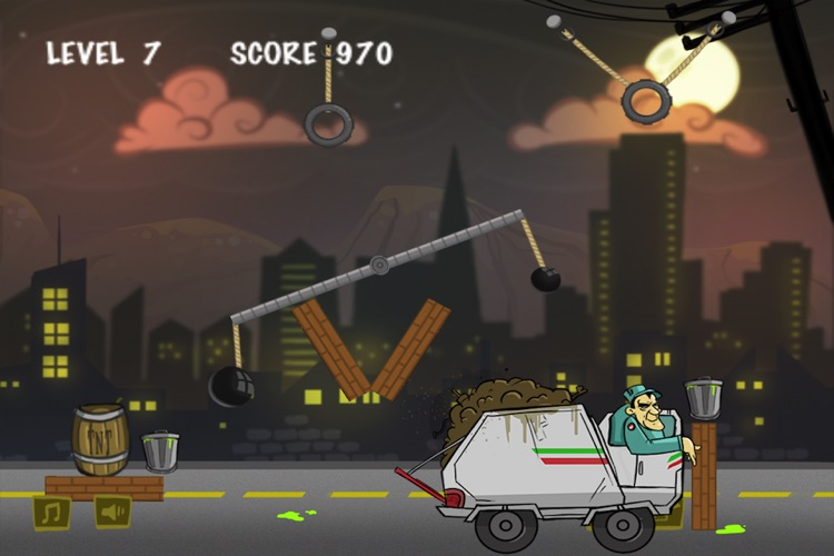 Garbage Collector Physics Lite