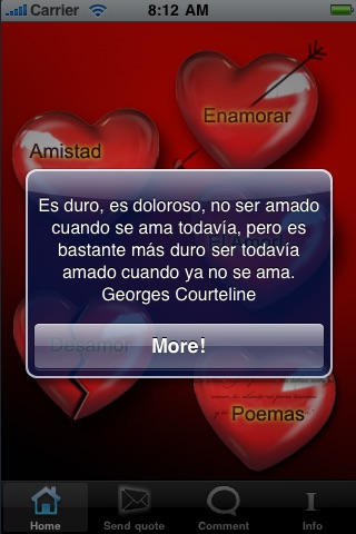 Amor | frases de amor screenshot-1