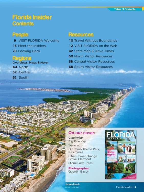 Florida Insider: The Official In-State Planning Guide screenshot-1