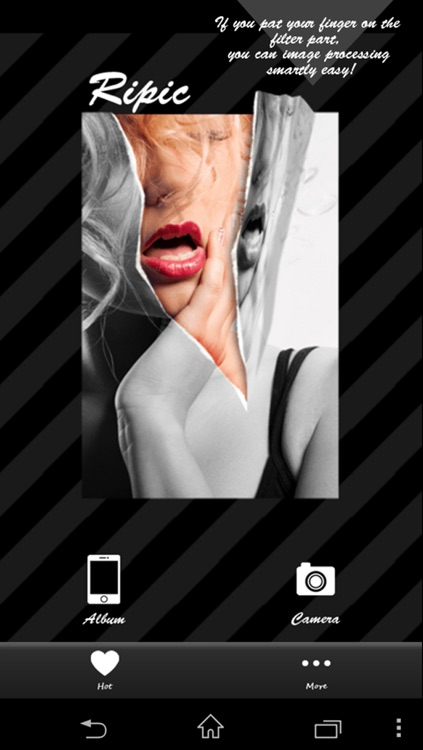 Ripic-This free splash photo editor camera app is super cool!